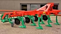 Agregat Podorywkowy Ścierniskowy Gruber Zabezpieczenie Zrywalne Ślimakowe AGRO-MASZ AP