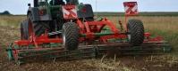 Brona Talerzowa Zabezpieczenie Gumowe Składana Hydraulicznie AGRO-MASZ BT BTH