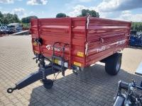 Przyczepa Ciężarowa Rolnicza Jednoosiowa METAL-FACH T703A 3,8t
