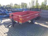 Przyczepa Ciężarowa Rolnicza Jednoosiowa METAL-FACH T735A 2,5t
