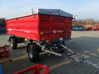 Przyczepa Ciężarowa Rolnicza Dwuosiowa METAL-FACH T710/1 6t