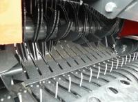 Prasa Belująca Stałokomorowa METAL-FACH Z562RN zRotorem iNożami Rolująca Zwijająca