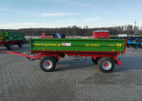 Przyczepa Ciężarowa Rolnicza Dwuosiowa PRONAR T653 4t