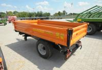 Przyczepa Jednoosiowa Komunalna PRONAR T655 2t