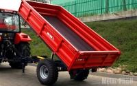 Przyczepa rolnicza ciężarowa T736/2 1,5t METAL-FACH