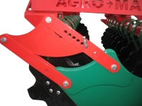 Brony talerzowe Brona BT AGRO-MASZ zabezpieczenie sprężynowe