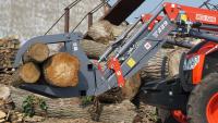 Chwytak do Kłód Drewna METAL-FACH KRAB