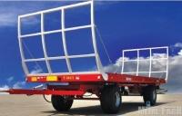 Przyczepa rolnicza platformowa dwuosiowa T014/1 7t T014/2 9t  METAL-FACH