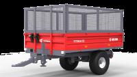 Przyczepa Ciężarowa Rolnicza Jednoosiowa METAL-FACH T736A 1,5t