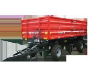 Przyczepa rolnicza ciężarowa T710/1 6t METAL-FACH dwuosiowa