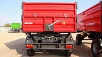 Przyczepa rolnicza ciężarowa T710/2 8t METAL-FACH dwuosiowa