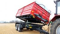 Przyczepa ciężarowa rolnicza tandemowa T755 14t METAL-FACH