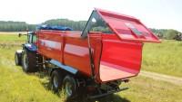 Przyczepa ciężarowa rolnicza T935/2 16t METAL-FACH