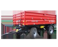 Przyczepa rolnicza ciężarowa T711/1 8t METAL-FACH