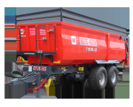 Przyczepa ciężarowa rolnicza T935/1 18t METAL-FACH
