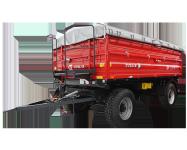 Przyczepa ciężarowa rolnicza T711/2 10t METAL-FACH
