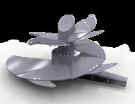 Wóz Paszowy Jednowirnikowy METAL-FACH T659 OPTIMAL 5m3 6m3 7m3 8m3 Konstrukcja Samonośna