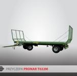 Przyczepa Platformowa do bel PRONAR T022M 7,3t
