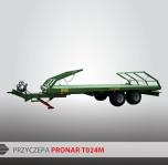 Przyczepa Platformowa do bel Tandem PRONAR T024M 8,7t
