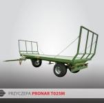 Przyczepa platformowa do bel T024M PRONAR