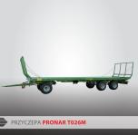 Przyczepa Platformowa do bel PRONAR T026M 13,6t