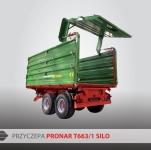 Przyczepa Ciężarowa Rolnicza Tandem PRONAR T663/1 iT663/1/S SILO 10t