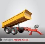 Przyczepa Ciężarowa Budowlana Tandem PRONAR T679/2 12t