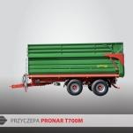 Przyczepa rolnicza ciężarowa skorupowa T700M 16t PRONAR