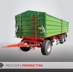 Przyczepa Ciężarowa Rolnicza Trzyosiowa PRONAR T780 16,3t