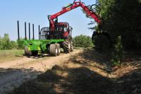 Przyczepa leśna PRONAR T644/1