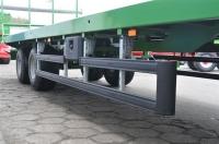 Przyczepa platformowa do bel PRONAR T023M 11,2t