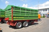 Przyczepa Ciężarowa Rolnicza Tandem PRONAR T663/2 iT663/2 SILO 7t