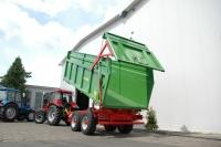 Przyczepa Ciężarowa Rolnicza Skorupowa PRONAR T669/1 TPL 14t