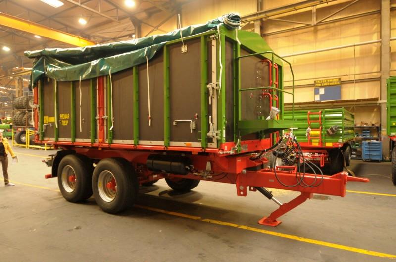 Unikalne Przyczepa rolnicza ciężarowa tandem T683P 15,2t PRONAR | ROLTECH LQ63