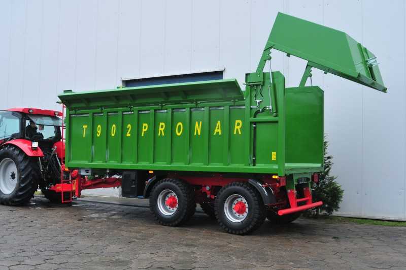 Niewiarygodnie Przyczepa rolnicza ciężarowa T902 16t PRONAR | ROLTECH Poniaty Wielkie NE16