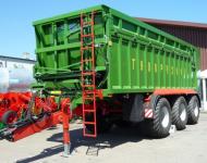 Przyczepa Ciężarowa Rolnicza zPrzesuwną Ścianą  PRONAR T900 23,5t