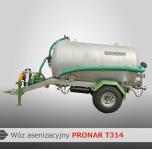 Wóz asenizacyjny T314/T315/T316 PRONAR
