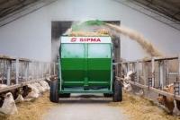 Rozdrabniacz Bel SIPMA RB 1200 KRUK Rozdrabniacz do Słomy Siana iSianokiszonki