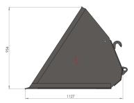 Szufla MAXI 1,8m 2,0m 2,2m 2,4m HYDRAMET Giżycko