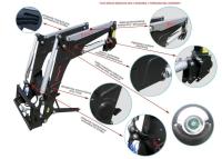 Ładowacz czołowy TUR XTREME 1 1600kg HYDRAMET Giżycko