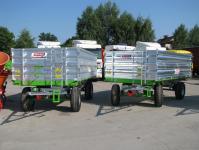 Przyczepa ciężarowa rolnicza T-169/2 6t CynkoMet