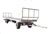 Przyczepa ciężarowa rolnicza T-608 Platforma CynkoMet