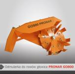 Odmularka do rowów głowica GO800 PRONAR