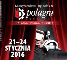 TARGI POLAGRA-PREMIERY Poznań 21-24.01.2016