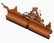 Spychacz czołowy T201/V POMAROL