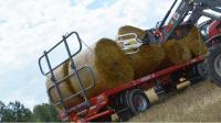 Przyczepa rolnicza platformowa tandem T027 12t METAL-FACH