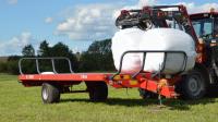 Przyczepa rolnicza platformowa jednoosiowa T954 5,9t METAL-FACH