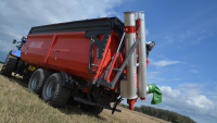 Przyczepa Ciężarowa Rolnicza Tandem METAL-FACH T935/1 18t Skorupowa