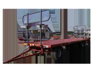 Przyczepa rolnicza platformowa  T020 trzyosiowa METAL-FACH