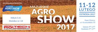 Mazurskie AGRO SHOW Ostróda 11-12.02.2017